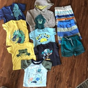 💙💚💛 Lot of boys Tea Collection clothes sz 3-6mo